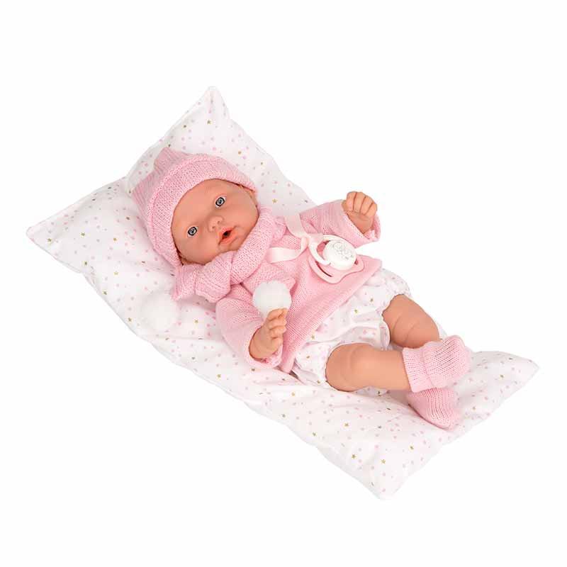 Elegance 28 cm Hanne rosa com almofada
