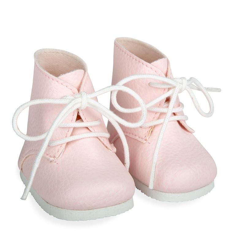 Botas rosa reborns 45 cm