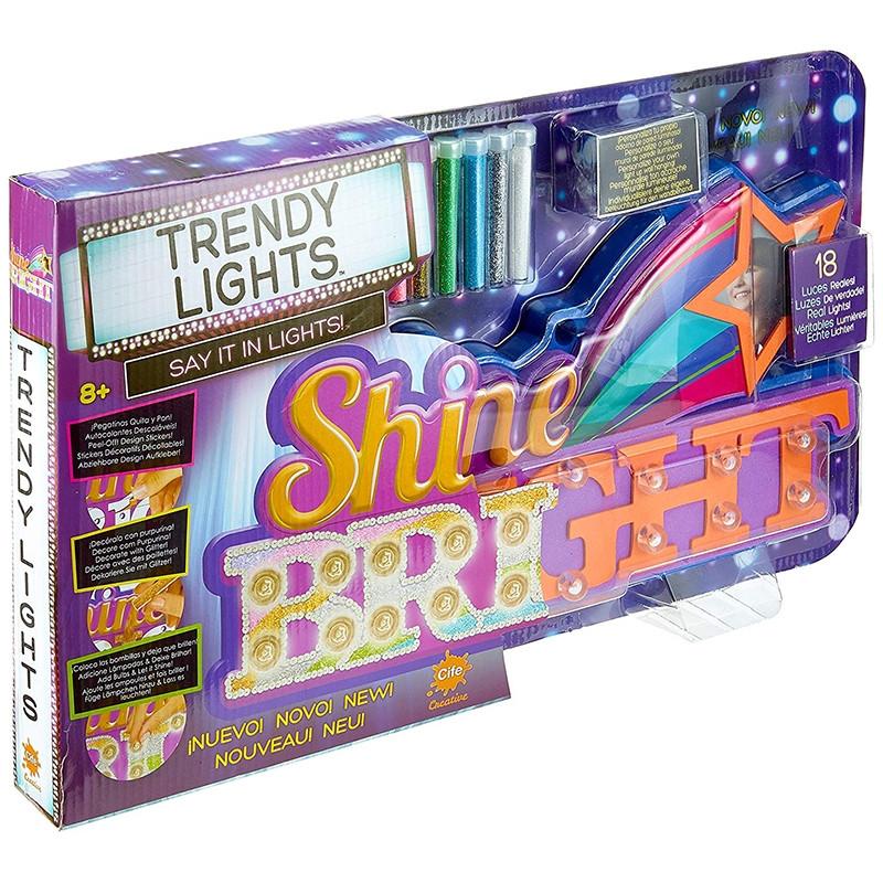 Cartaz luminoso Trendy lights  Kiss/Shine