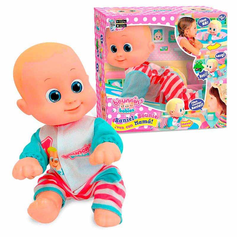 Bouncin Babies Baniel vem com a mãe