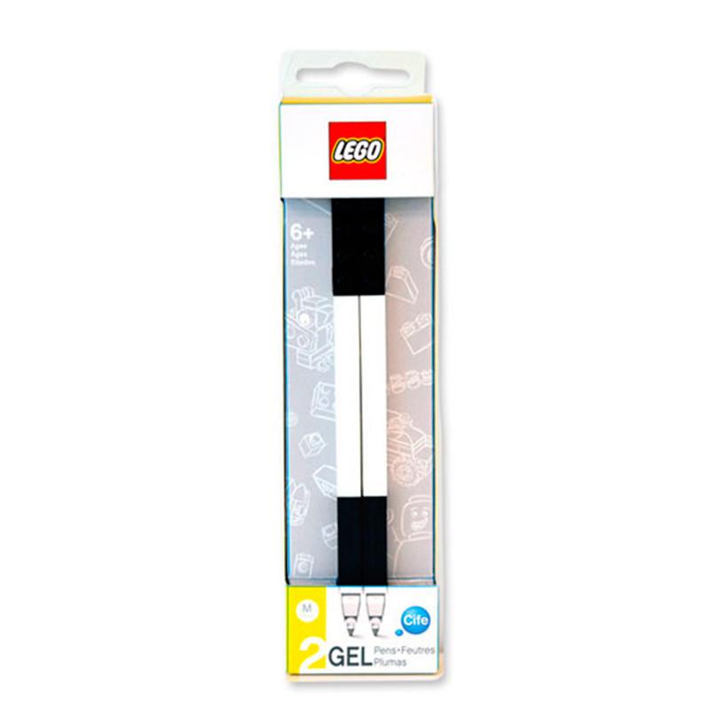 Pack 2 Canetas de Gel Preto LEGO