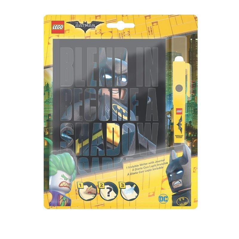 LEGO Batman Movie agenda com caneta