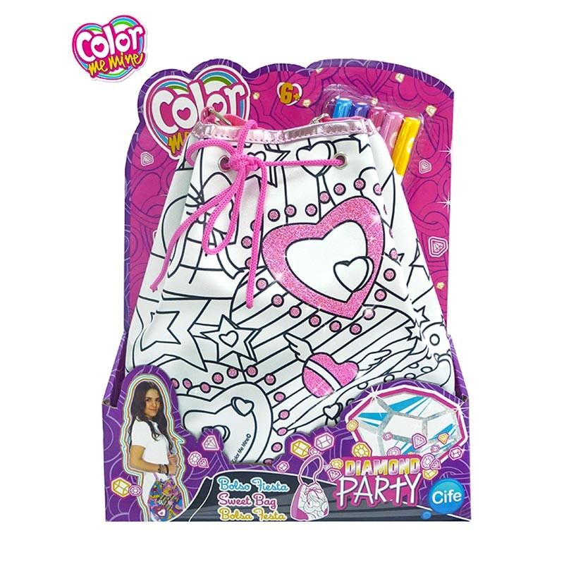 Color me Mini bolsa Diamond Party