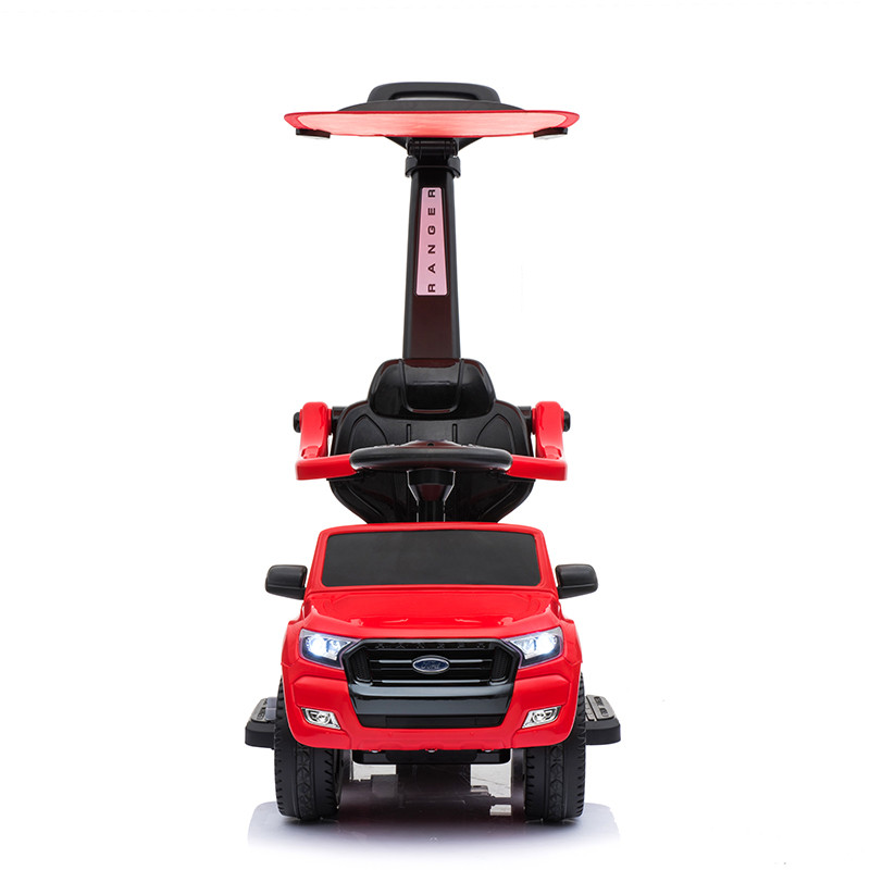 Andador eléctrico Racing Cars vermelho