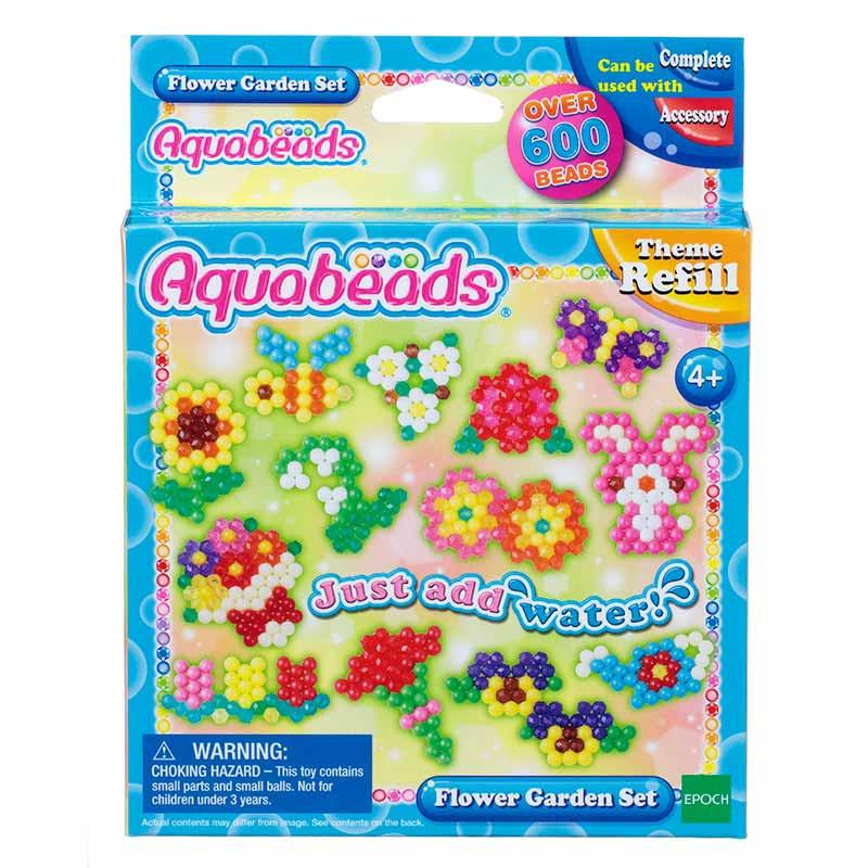 Aquabeads Conjunto Flores de Jardim