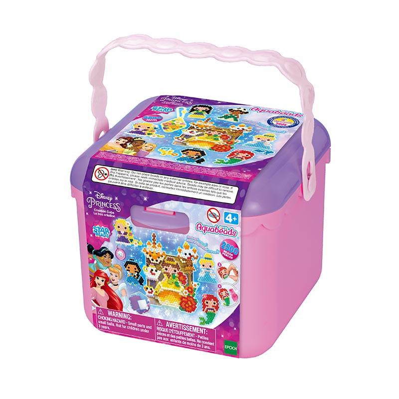 Aquabeads Cubo de Creatividade da Princesas Disney