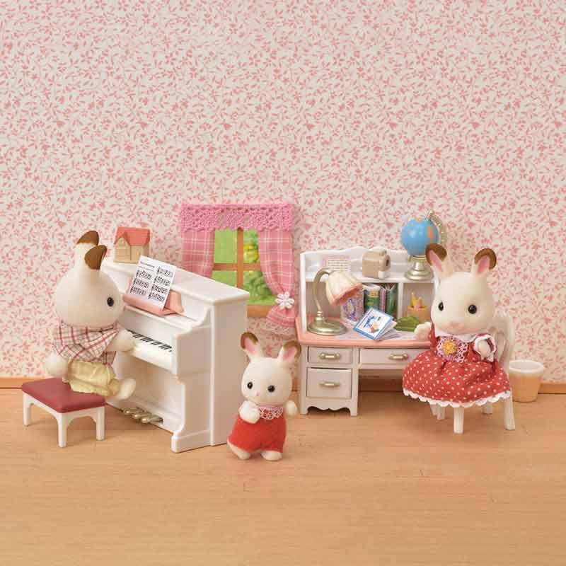 Sylvanian Families Piano e escritório