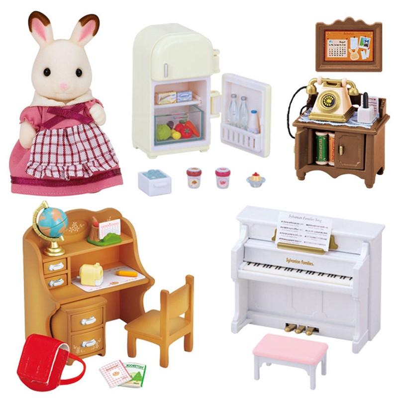 Sylvanian Families conjunto de móveis clássico