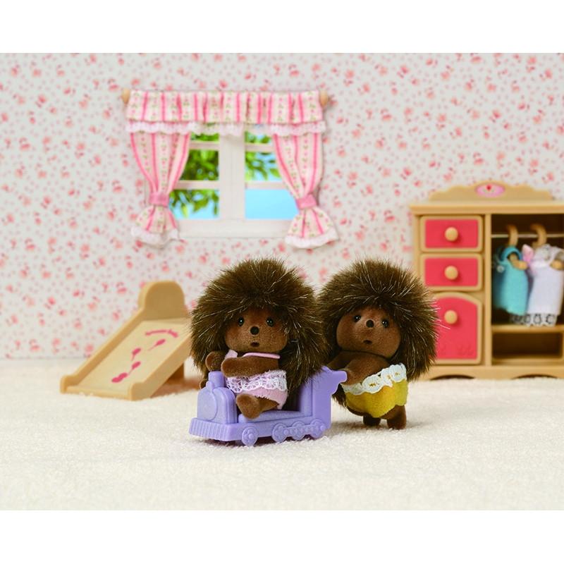 Sylvanian Families gémeos ouriço