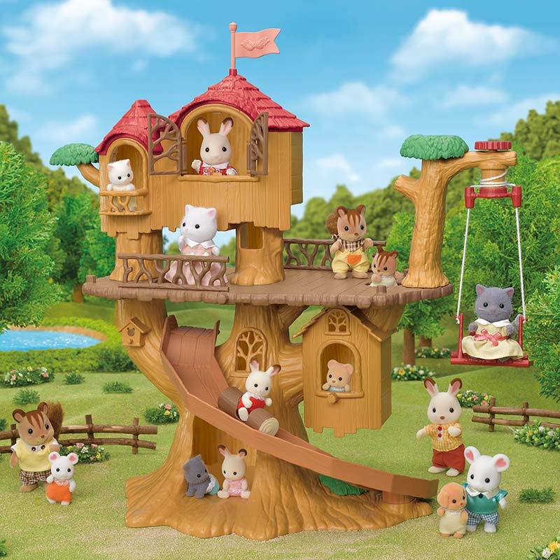 Sylvanian Families Aventura na Casa da Àrvore