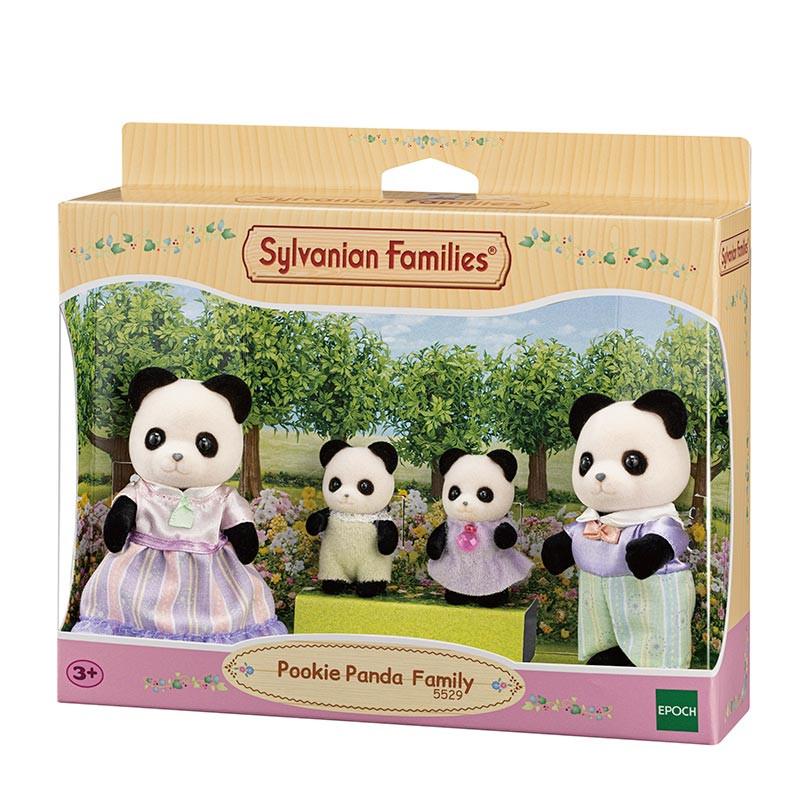 Sylvanian Families Família Panda Pookie