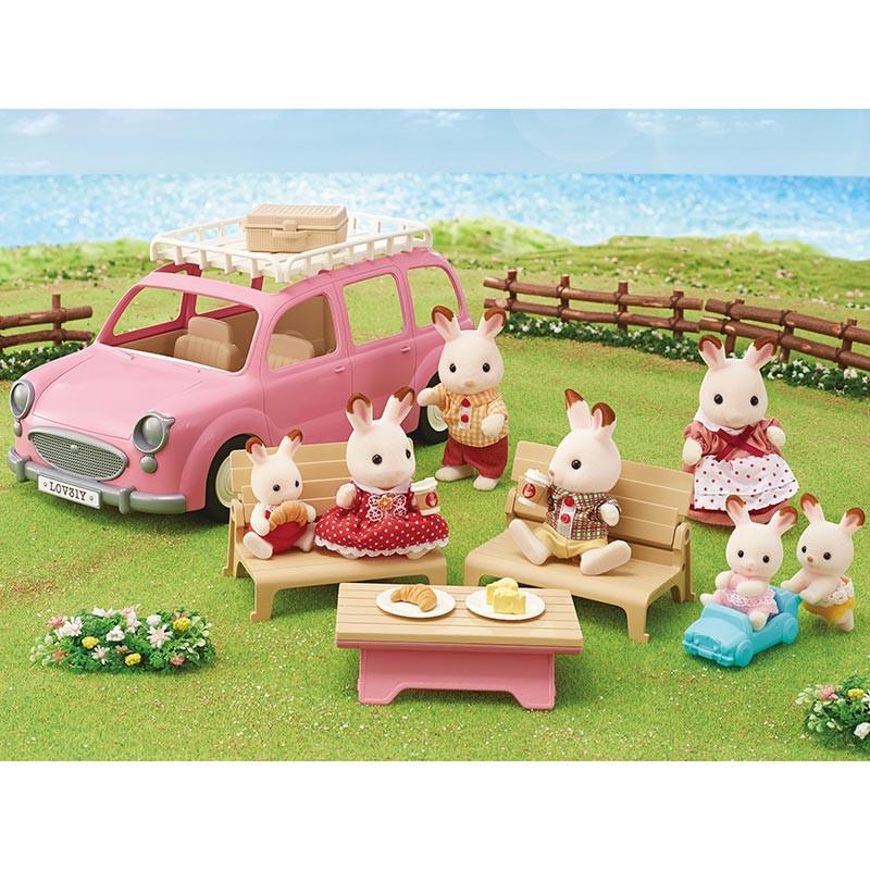 Sylvanian Families Minivan de piquenique