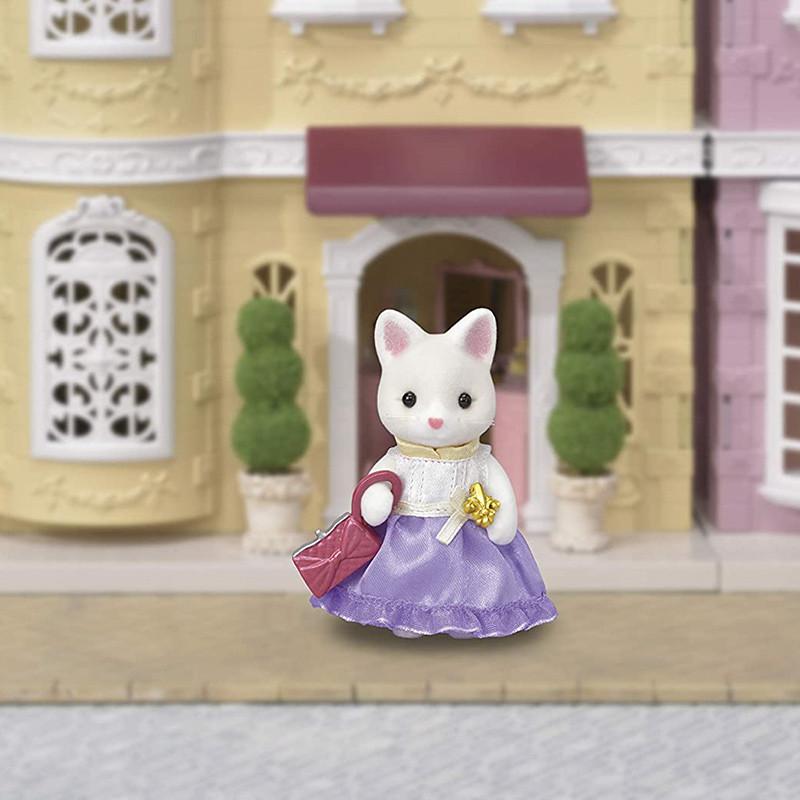 Sylvanian Families Town Series Cat Silk Girl