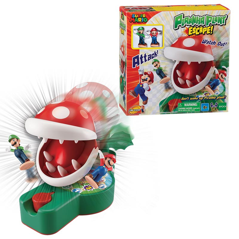 Super Mario Escape from Piranha Plant