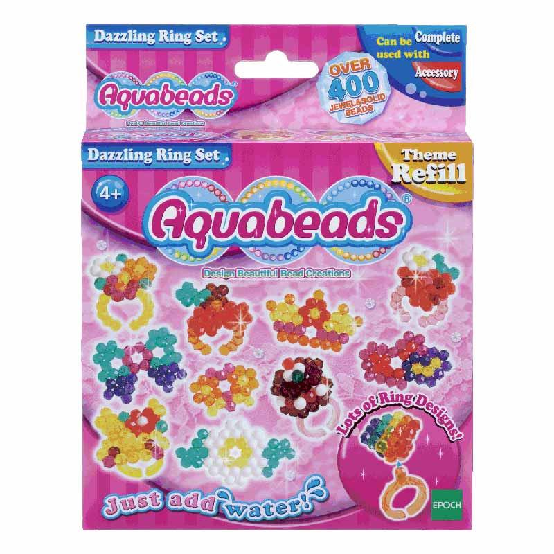 Aquabeads Conjunto de Anéis Deslumbrantes