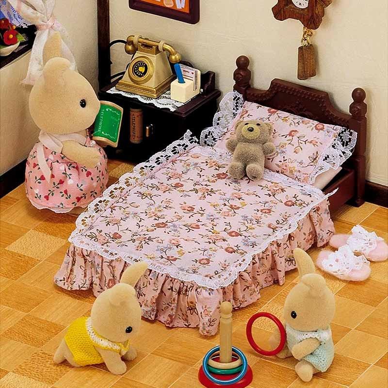 Sylvanian Families cama antiga clássica