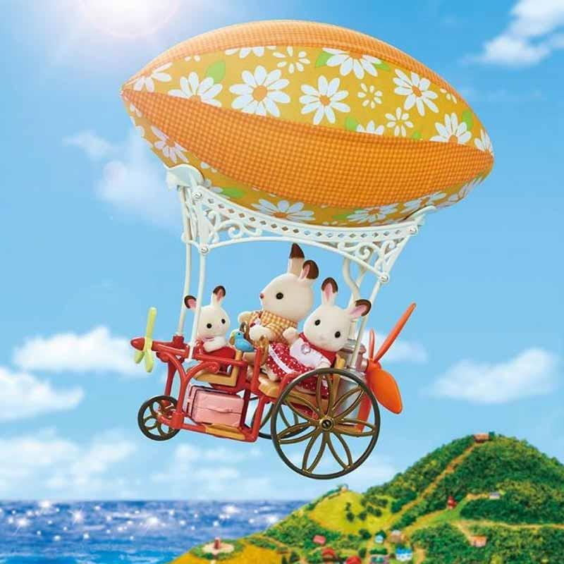 Sylvanian Families aventura em balão