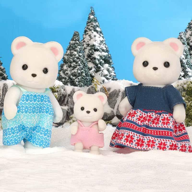 Sylvanian Families Família Urso-polar