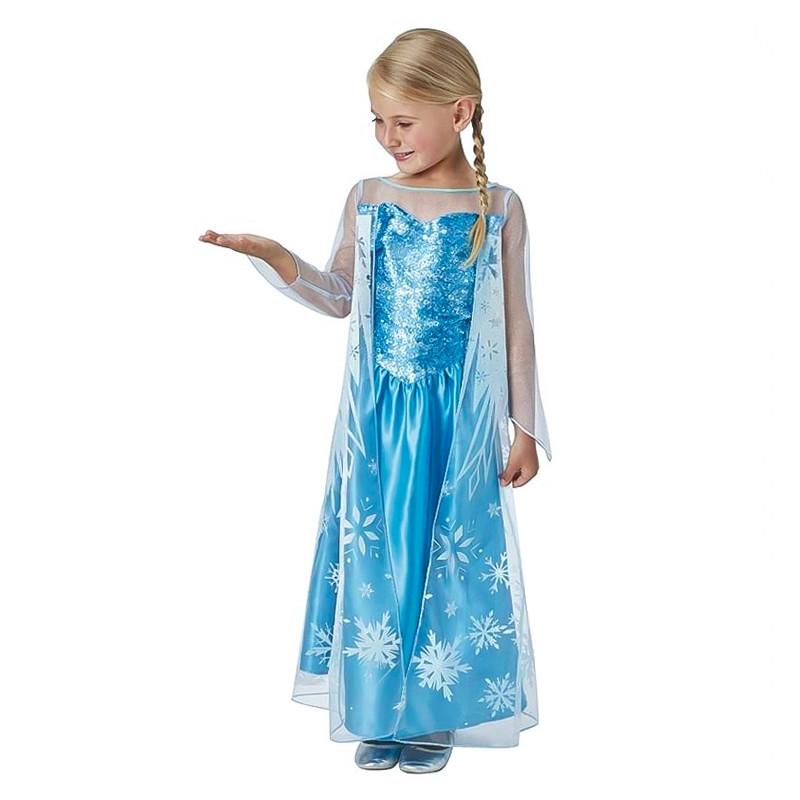 Disfarce Elsa Frozen infantil