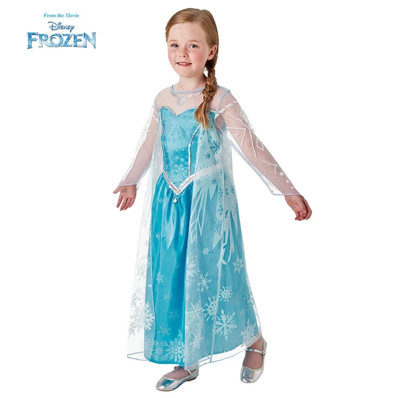 Disfarce Elsa Frozen deluxe infantil