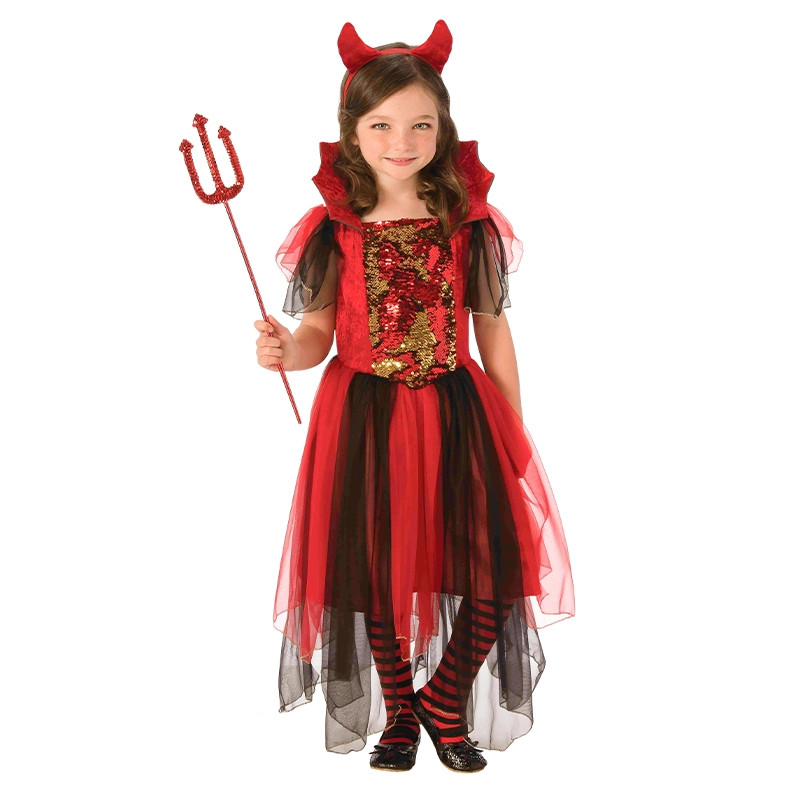 Disfarce diabinha mágica infantil