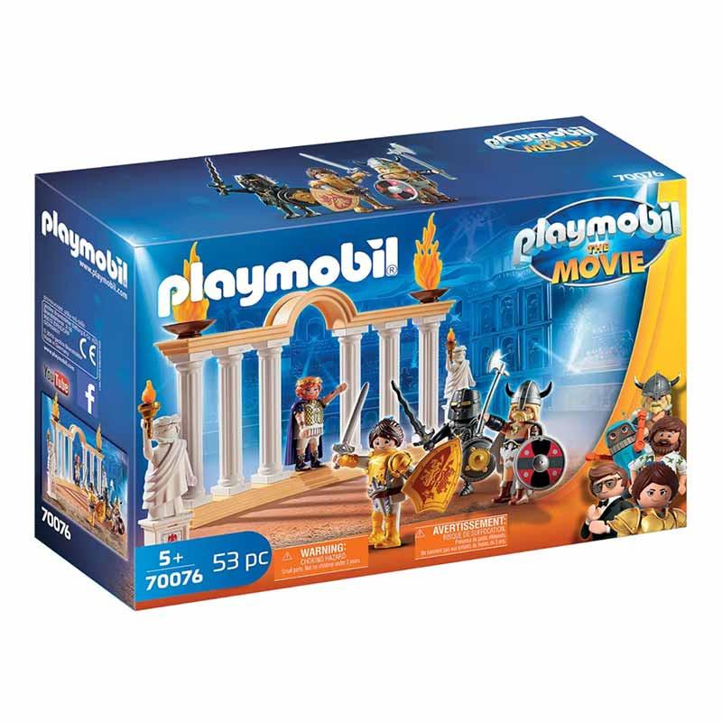Playmobil The Movie Emperador Maximus no Coliseu