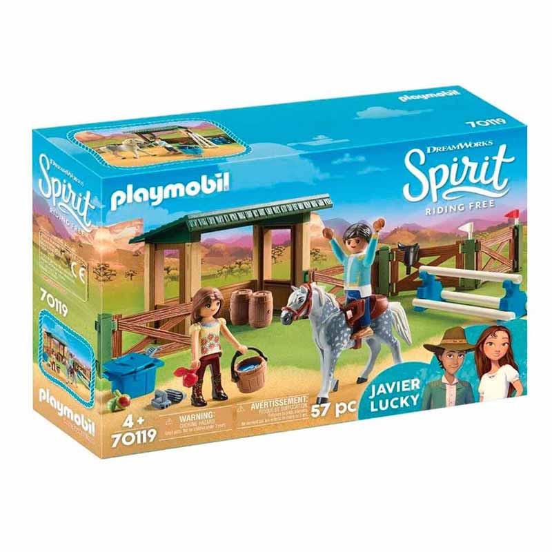 Playmobil Paddock com Fortu e Javier