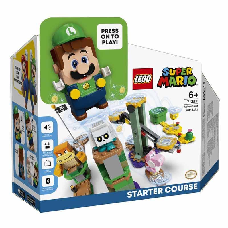 Lego Mario Pack Inicial Aventuras com Luigi