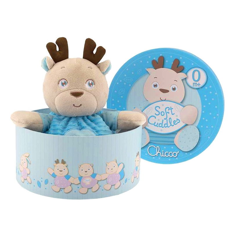 Chicco peluche Rena Azul Soft Cuddles