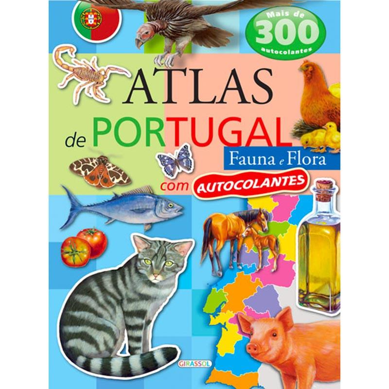 Atlas portugal c/ autocolantes