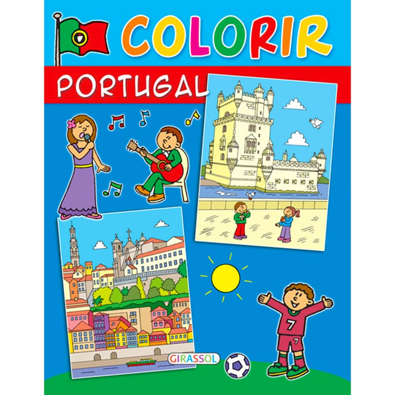 COLORIR PORTUGAL - capa azul