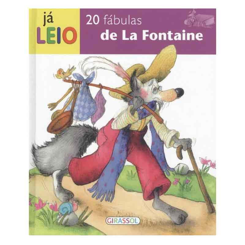 20 Fabulas de la Fontaine (Já Leio)