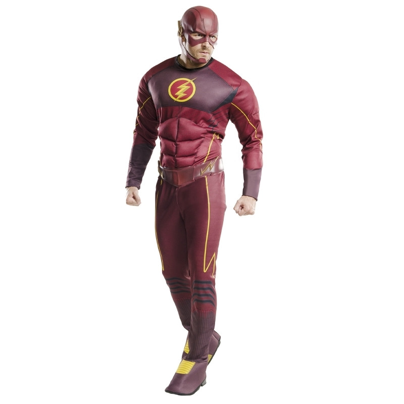 Disfarce Flash deluxe adulto