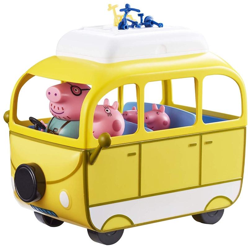 Peppa Pig Autocaravana com 4 figuras