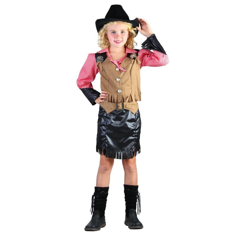 Disfarce cowgirl infantil