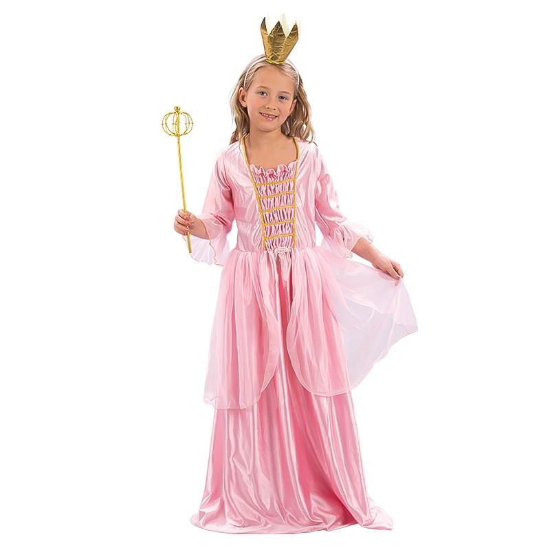 Disfarce princesa rosa infantil