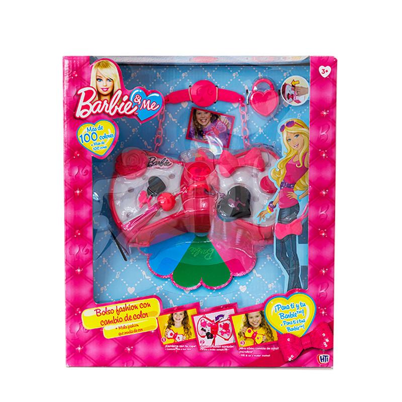 Mala pequena com acessórios Barbie
