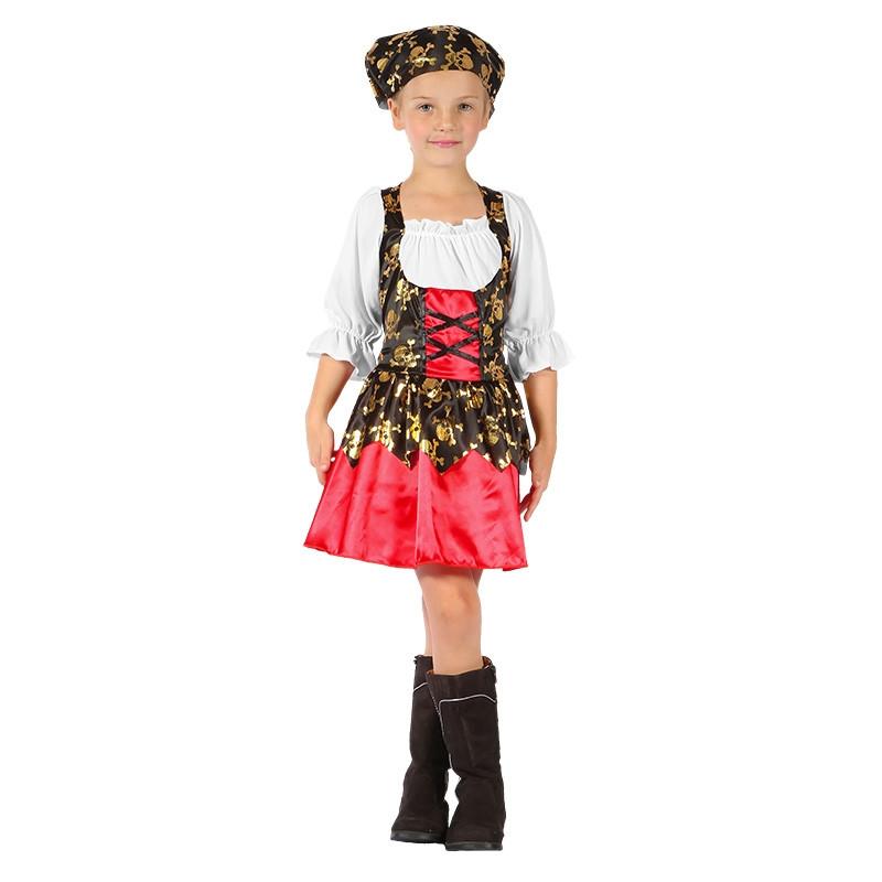 Disfarce menina pirata infantil