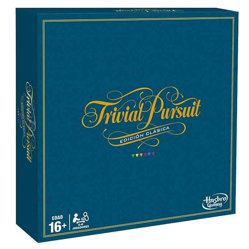 Jogo Trivial Pursuit Edição Clássica Hasbro