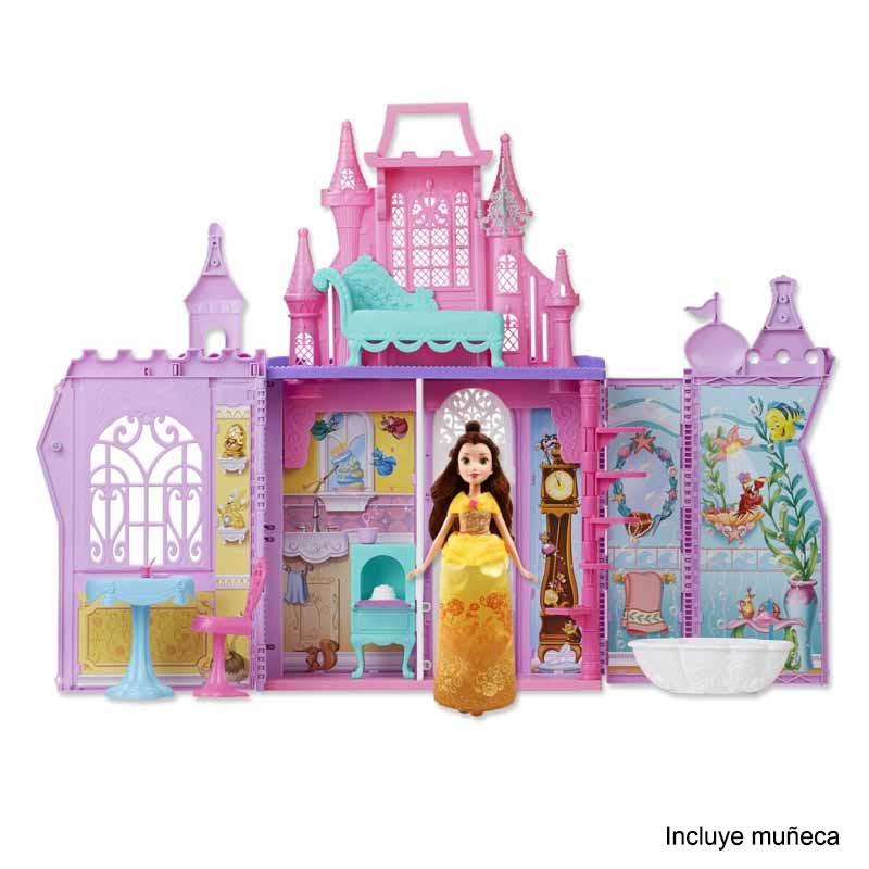 Castelo de princesas Disney Pack and Go