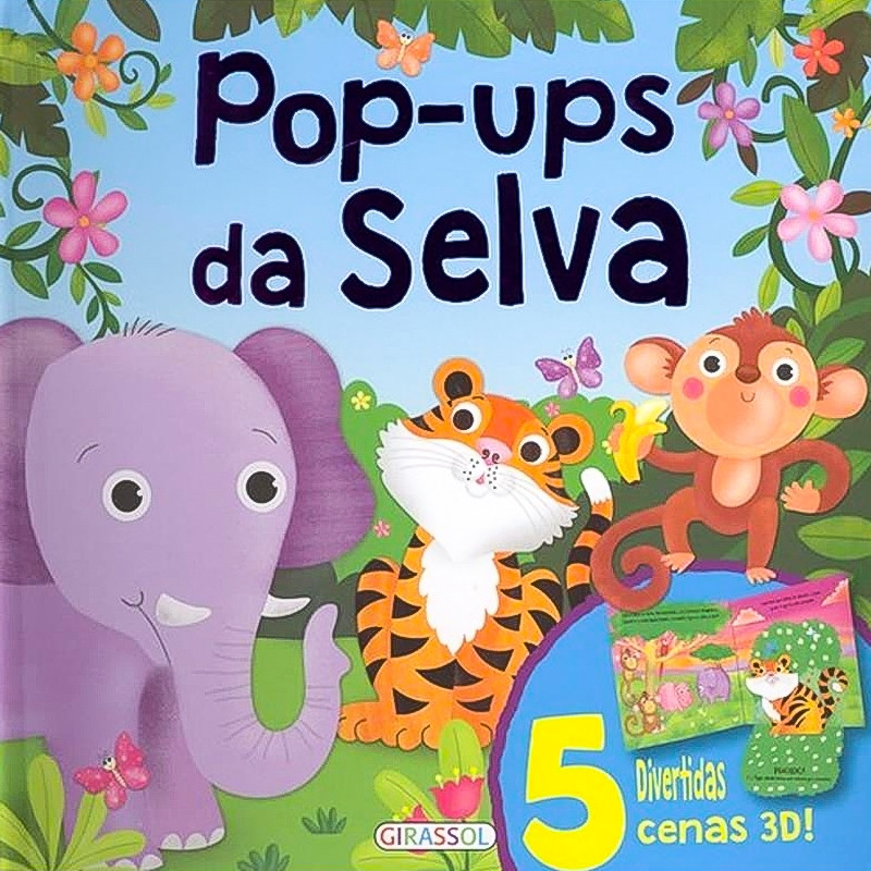 Pop-ups da selva