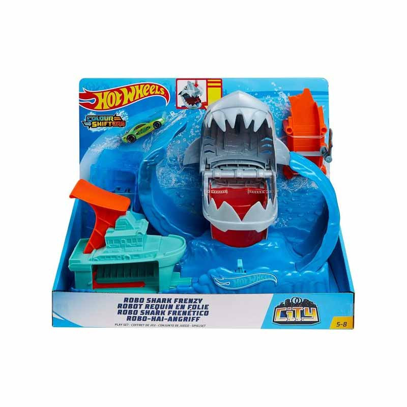 Hot Wheels Robo Shark frenético