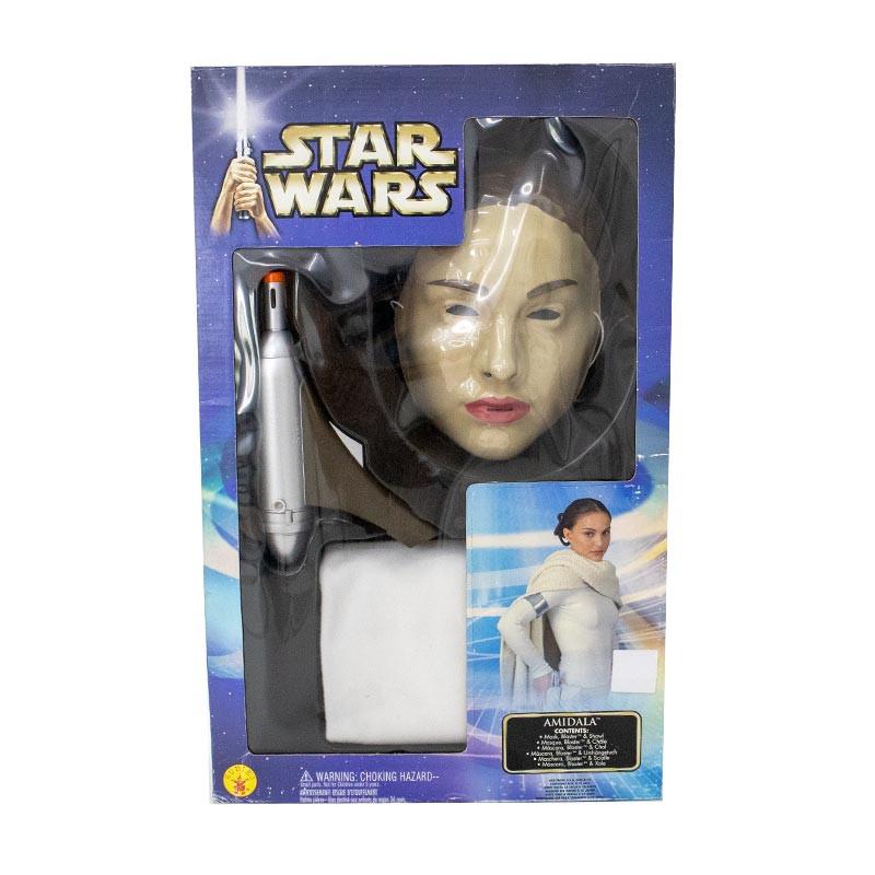 Disfarce Amidala Star Wars c/pistola sons