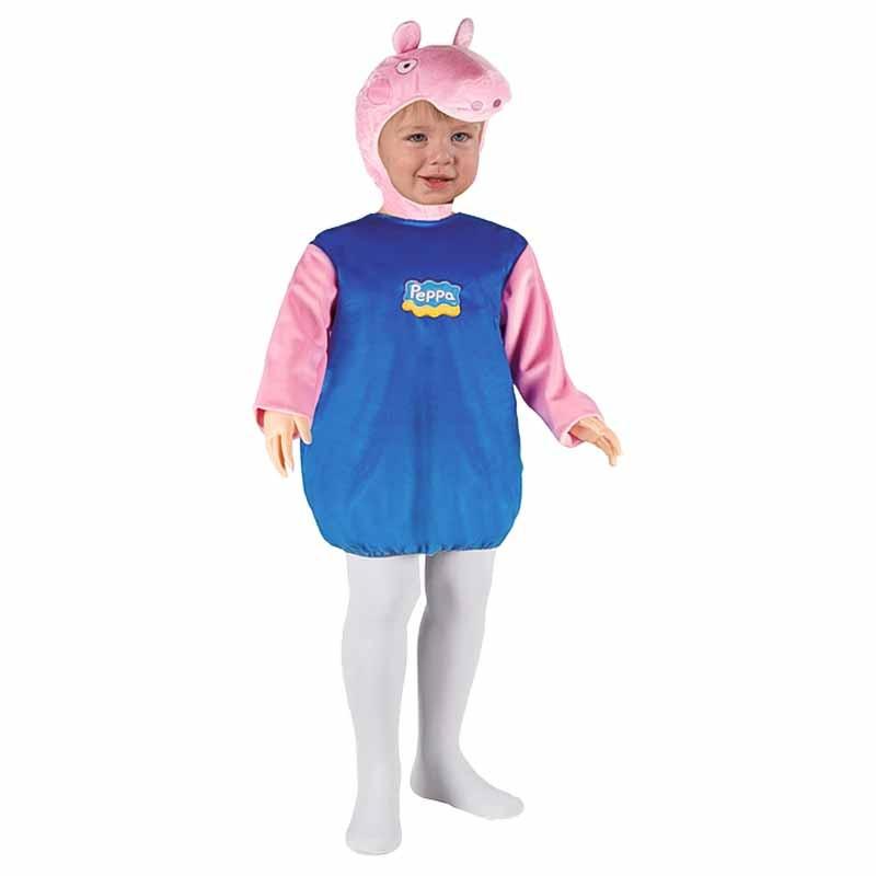 Disfarce George Peppa Pig para bebé