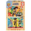 Educa Puzzle Madeira 2x50 Toy Story 4