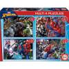 Educa Puzzle Multi Spiderman 50-80-100-153