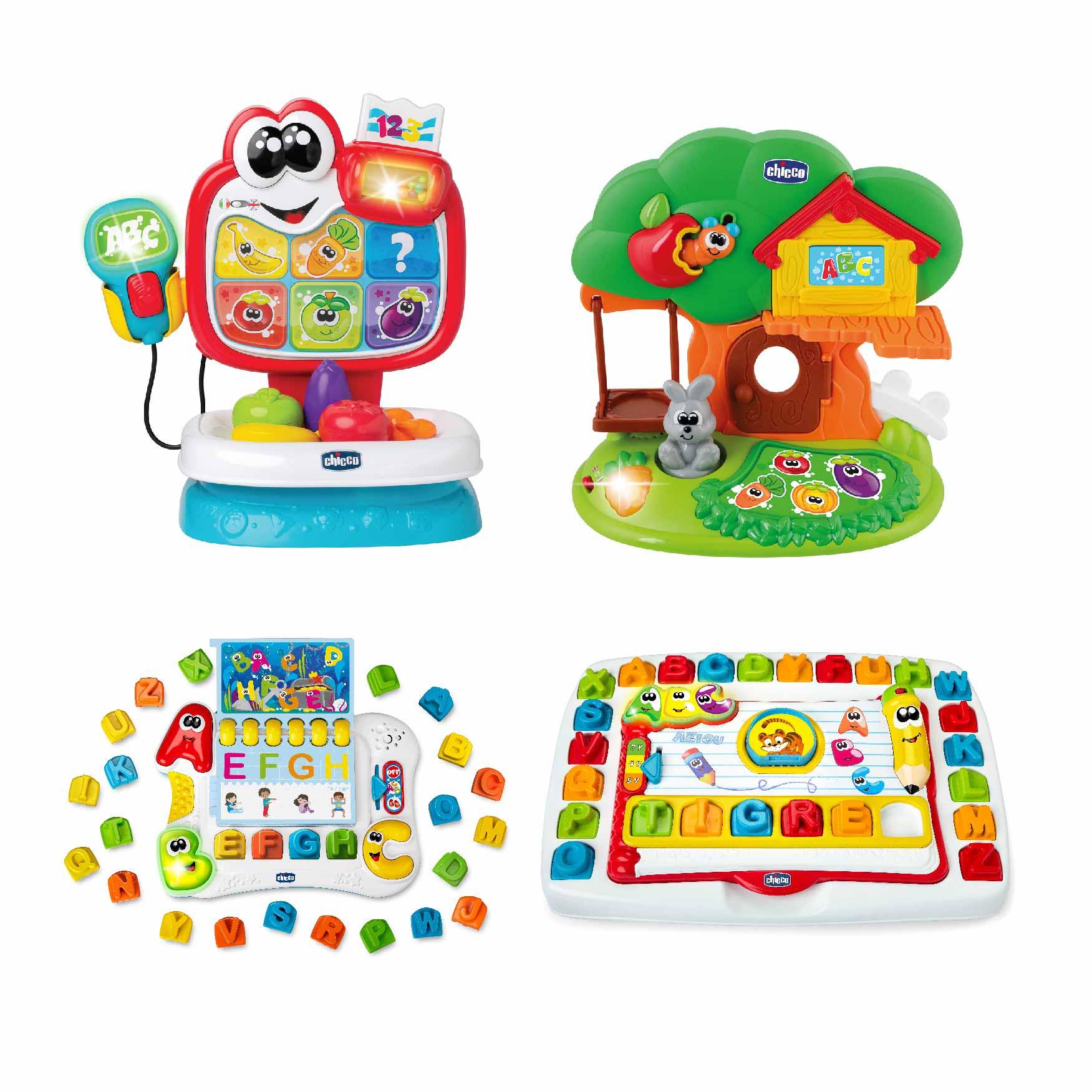 Brinquedos educativos e bilingues