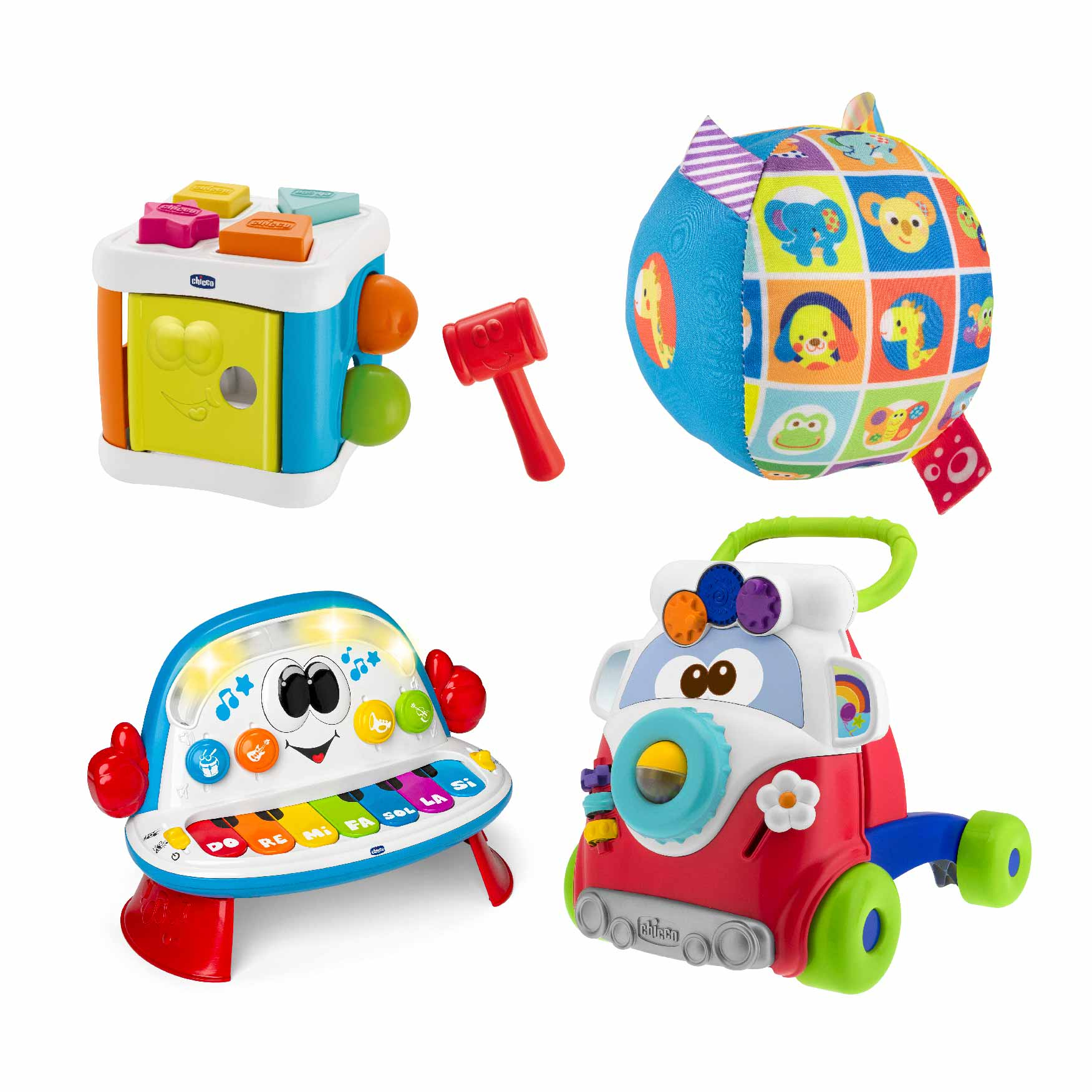 Brinquedos para estimular o crescimento