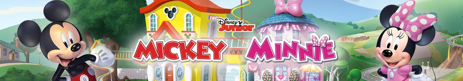 Brinquedos de Mickey e Minnie