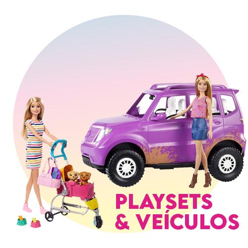 Playsets e veículos